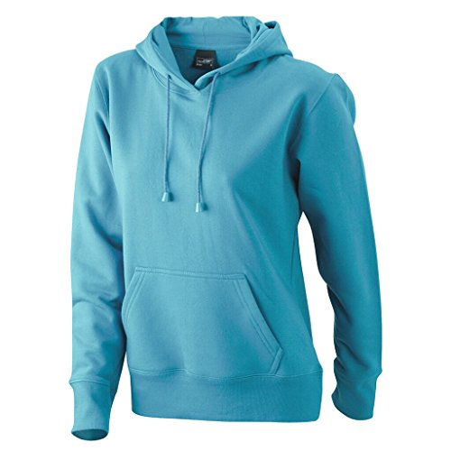 JAMES & NICHOLSON Sweat-shirt a capuche bleu ciel