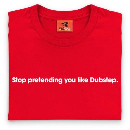 Dubstep T-Shirt, Herren Rot