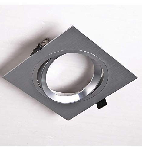 Spot 1 ampoule encastrable en aluminium brossé - Maja KOSILUM - IP20 - Classe énergétique : Compatible avec A, B, C, D, E - 220/230V 50/60Hz - - - Argenté / Chromé - Descriptif technique du luminaire :Culot de l'ampoule :Non | Nombre d'ampoules : 1 | Indice de protection : IP20 | Puissance : | Tension : 220/230V 50/60Hz | Poids du luminaire : 0,10kg | Poids du colis : 0,31 kg - KOSILUM