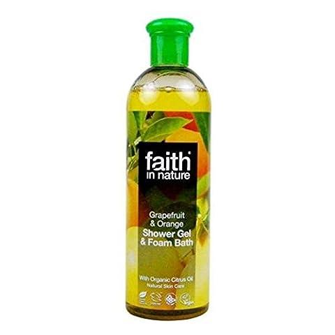 Faith | Grapefruit & Orange Foam Bath | 5 x 400ml