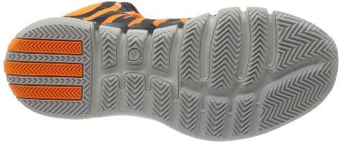 adidas  Adidas Rose 4.5, Chaussures spécial basket-ball pour homme carbon/solze 46.0EU/ 29.5cm - Orange/Grau