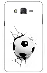 iessential football Designer Printed Back Case Cover for Samsung Galaxy J7 (2015)