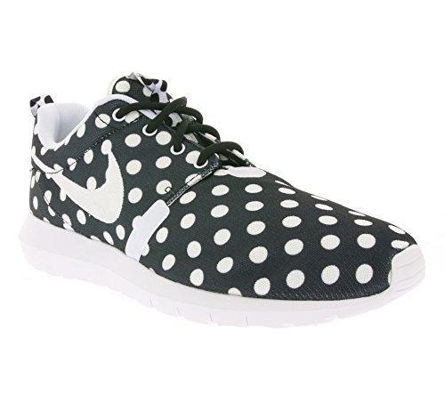 Nike Roshe Nm Qs, Chaussures de Running Entrainement Homme, Vert, 44 EU Noir / Blanc / Gris (Noir / Blanc-Loup Gris)