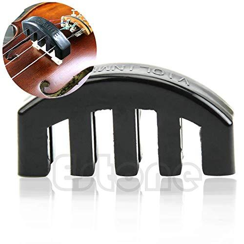 Ogquaton 1/2 3/4 Heavy Violin Mute Übungsgummi Akustik Elektro Violin Schalldämpfer Premium Qualität