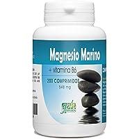 Magnesio marino y vitamina B6 ♢ 548 mg al día ♢ 200 comprimidos