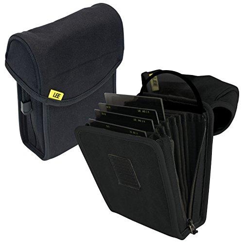 LEE Filters Field Pouch Black Filtertasche für bis zu 10 Filter aus dem 100mm-System - z.B. für Grauverlaufsfilter - Schwarz