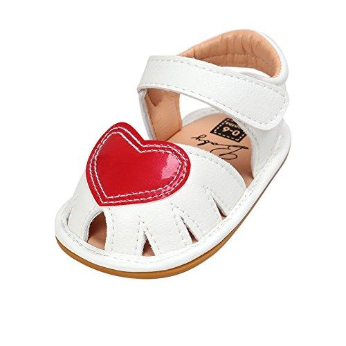 Mesi 18 Neonata Shoes rubber bambina Sandals 3 Bottom Kission Sandali nvO80ymNw