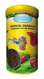 AQUARIS ALL TROPICAL GRANULES- FISH FOOD - 250 ml /160 g