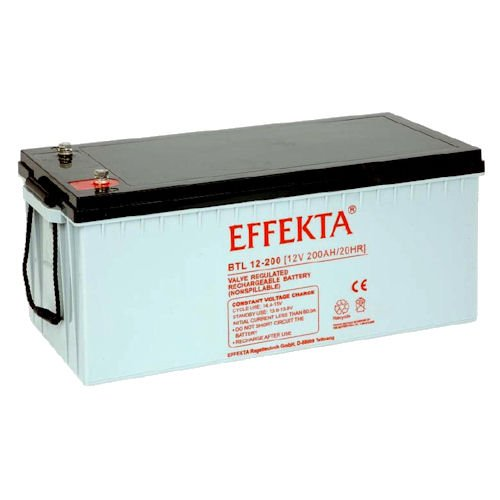 EFFEKTA BTL12-200 / 12V 200Ah AGM Blei Akku Batterie