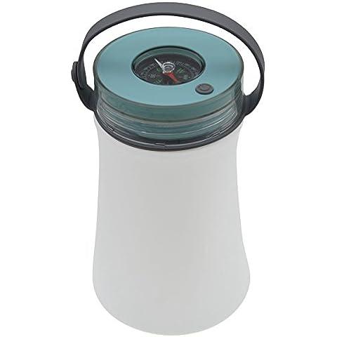 Mango de silicona USB Luz al aire libre, multifunción LED de luz de camping, sellado a prueba de agua de la lámpara recargable, iParaAiluRy