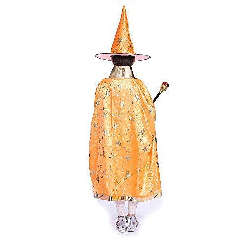 Costumi di Halloween strega guidata mantello con cappello per bambini 798c45e72f27