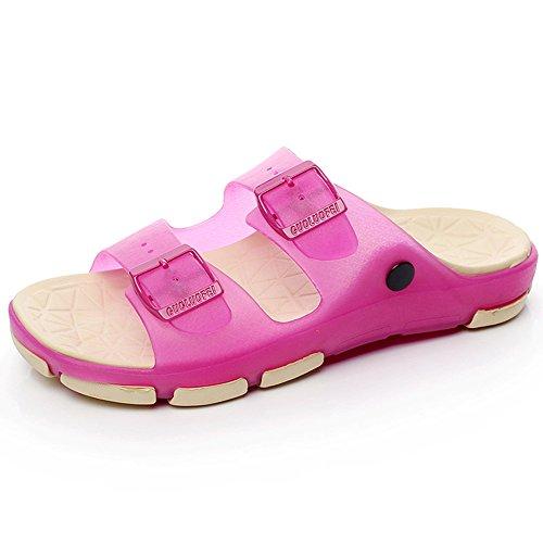 Estate Sandali Estate femmina antiscivolo Coppie sandali scarpe da spiaggia Pantofole da bagno indoor da bagno Bagno Massaggi Scarpe da 5 colori Colore / formato facoltativo #1