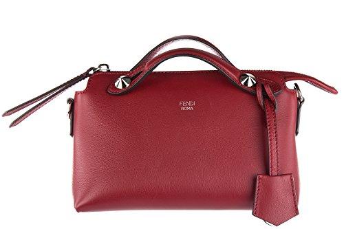 fendi-sac-a-main-femme-en-cuir-tonneau-mini-by-the-way-rouge