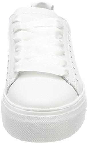 Kennel und Schmenger Schuhmanufaktur Damen Big Sneaker Weiß (Bianco Sohle Weiß)