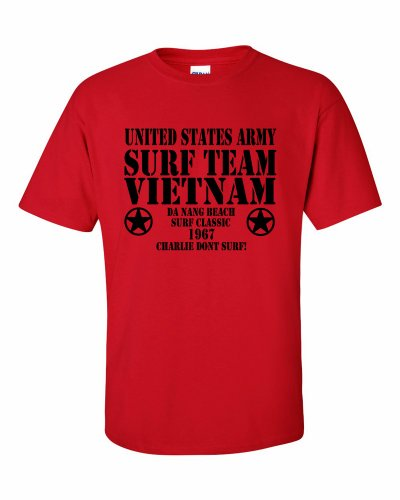 Surf Team Vietnam T-Shirt Rot