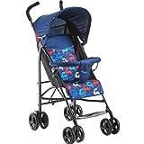 Meen Passeggino, Baldacchino Pieno Pieghevole Ultra-Leggero Dell'ombrello di Bambino può Sedersi sul Carrello (Colore : Blu)