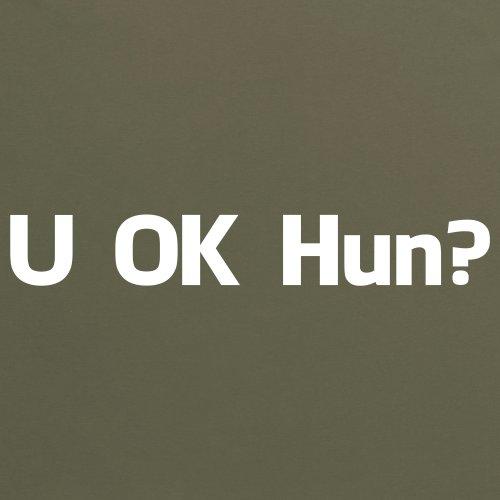 OK Hun T-Shirt, Herren Olivgrn