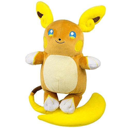 Pokemon T19351 - Tomy großer Plüsch Raichu, Kuscheltier