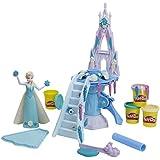 Play-Doh - Juego creativo Palacio de hielo de Elsa (Hasbro B5530)