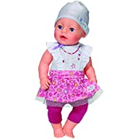 Baby Born Fashion Collection Set With Silver Hat