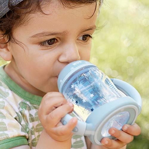 NUK Learner Cup Trinklernbecher, auslaufsicher, hochwertiger Edelstahl, langlebig und hygienisch, 125ml, 6-18 Monate, Rosa (Girl) - 6