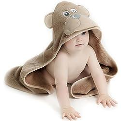 Little Tinkers World Toalla de bebé con capucha (Oso)