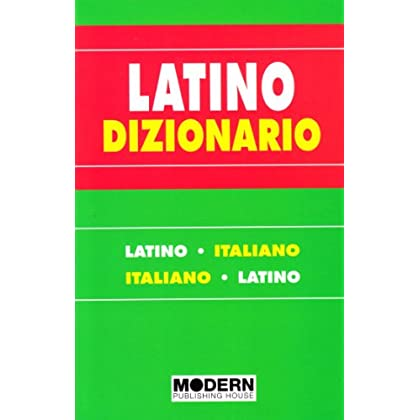 Dizionario Latino-Italiano, Italiano-Latino