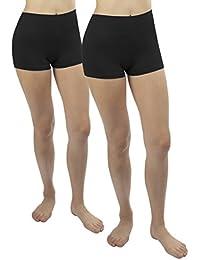 iLoveSIA® Damen Shorts Nahtlose komfortabel,Multi-Verwendungszweck