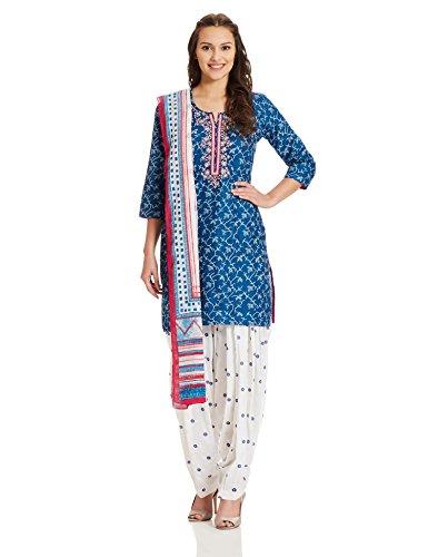 bcbf77eee ... BIBA Women s Straight Salwar Suit (SKD4978 blue 34) Return to Previous  Page. lightbox