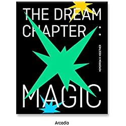 TXT The Dream Chapter : Magic Album PreOrder (Arcadia Version) CD+Poster+Photobook+Photocard+Student ID Pad+Sticker Pack+Viewer Glasses+Gift (Extra 4 Photocards Set)