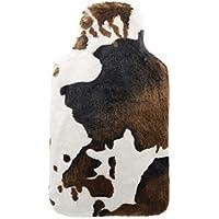 YUN PVC-Bewässerung-Wärmflasche-Kuh-Muster-Mantel-Warmer Handwärmer 2L preisvergleich bei billige-tabletten.eu