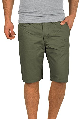 Blend Sasuke Chino Shorts Bermuda Kurze Hose Aus 100% Baumwolle Regular Fit, Größe:L, Farbe:Dusty Green (70595) -
