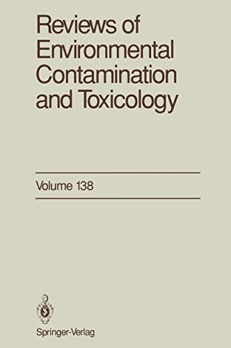 Reviews of Environmental Contamination and Toxicology: Continuation of Residue Reviews (English Edition)