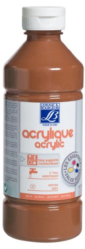 lefranc-bourgeois-education-loisir-creatif-acrylique-liquide-education-marron-500-ml