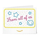 From All of Us (Cake) - Printable Amazon.co.uk Gift Voucher