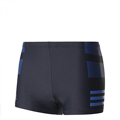 adidas Herren Infinitex Colourblock 3-Streifen Boxer-Badehose Legink/Brblue/Croyal