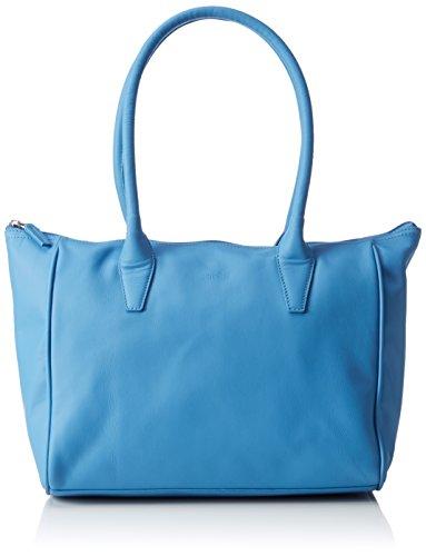 BREE Damen Sylvie 1, sm, shou. Bag Special Schultertaschen, Blau (Riviera 230), 42x14x26 cm