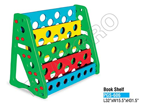 Playgro Book Shelf (Colour May Vary)