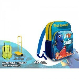 Imagen de kids euroswan  disney   buscando a dory 42x30x6cm. adaptable a trolley alternativa