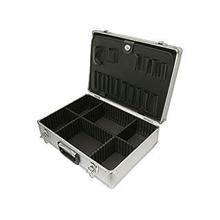 ROC Cases Aluminium Flight Case with dividers (460x330x150mm)