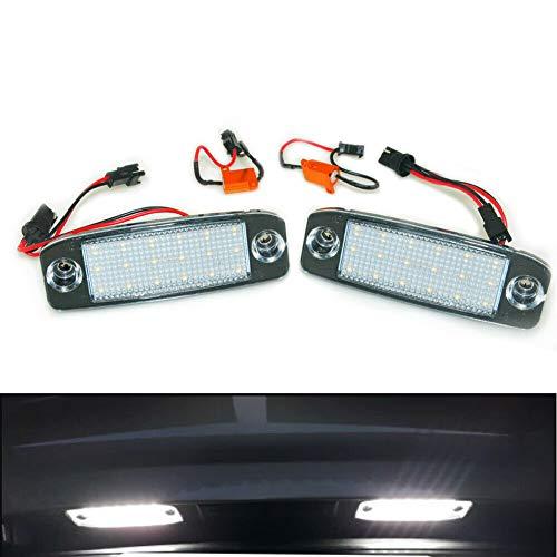 Preisvergleich Produktbild 2 Stücke Auto LED kennzeichenbeleuchtung kennzeichenleuchte für Kia Sportage 2011 ~ Für SONATA 10 10~13 Für SONATA YF 10MY 2010~2013 GF 10