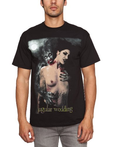 Loud Distribution Herren T-Shirt CRADLE OF FILTH - JUGULAR WEDDING Schwarz - Schwarz