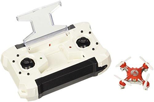 TEC.BEAN Super Mini Pocket RC Drone con flip 3D, la modalità senza testa, un tasto di ritorno del rtf 4CH 6 Axis Gyro Quadcopter (rosso)