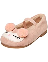 Xiahbong Zapatos para Niña Casual Zapatillas de Princesa de Dibujos Animados