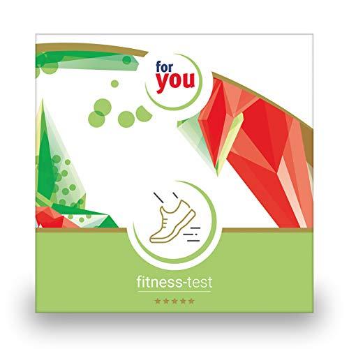 for you fitness-test I zertifizierter Labor Test für Messung von 24 Vitalstoffen die Deine Fitness entscheidend beeinflussen zB Vitamin D Omega 3 testen I Bluttest für Zuhause