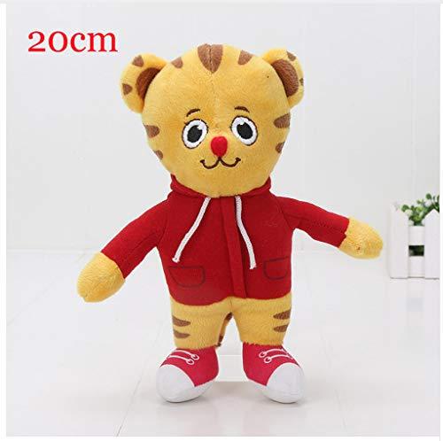 Lp118 - peluche daniel tiger 's neighborhood daniel tiger, 20 cm, regalo di compleanno per bambini