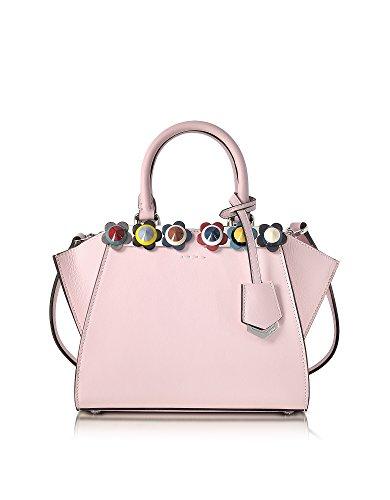 Fendi-Womens-8BH333SVCF07HE-Pink-Leather-Handbag