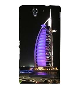 printtech Burj Al Arab Dubai Building Back Case Cover for Sony Xperia C3 Dual D2502::Sony Xperia C3 D2533