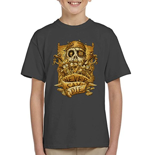Kids Never Say Die T-Shirt, Ages 3 to 13 years