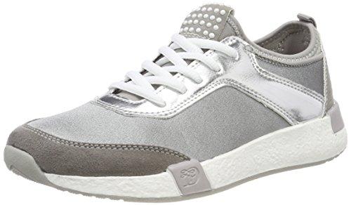 TOM TAILOR Damen 4899101 Sneaker, Grau (Grey), 39 EU
